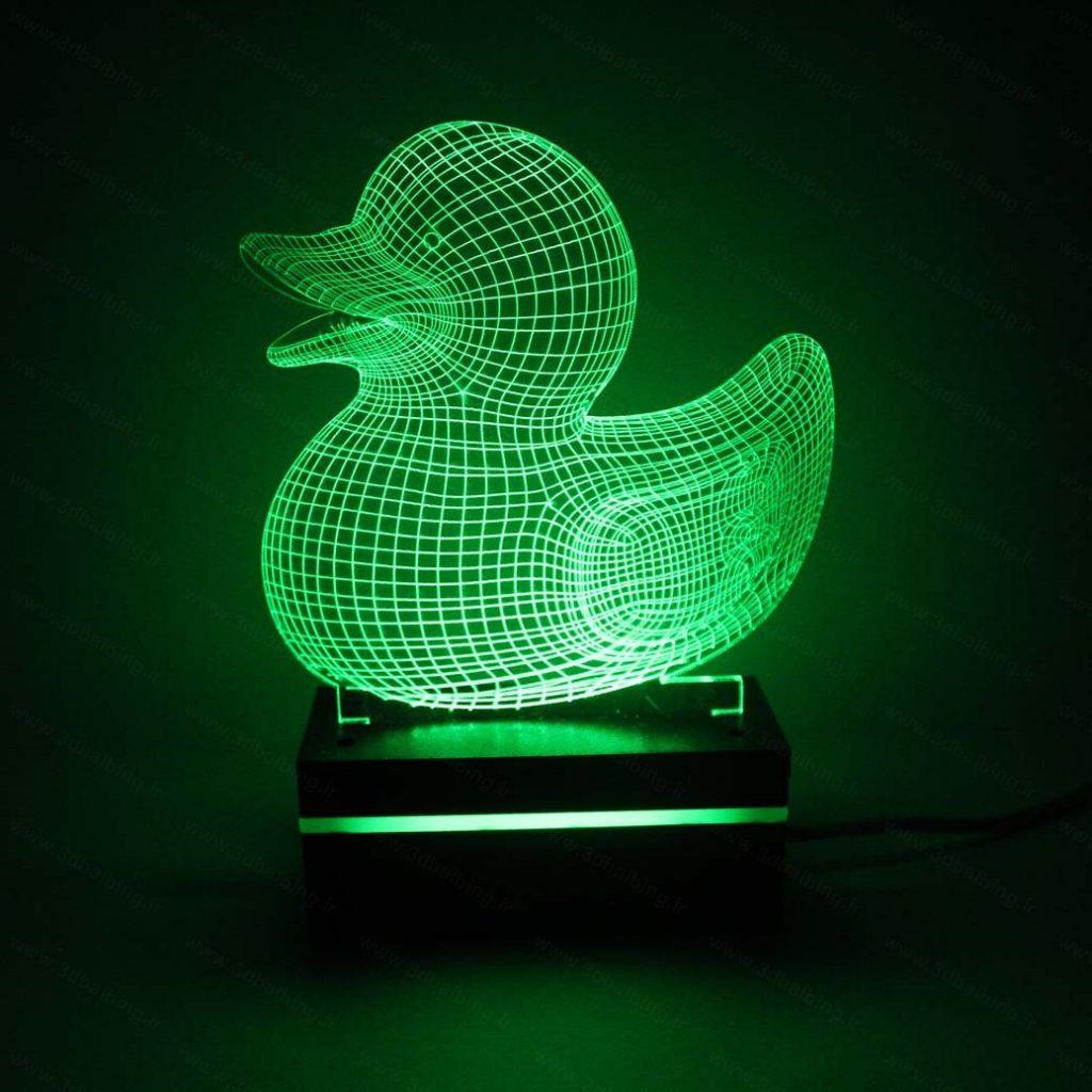 چراغ خواب طرح اردک