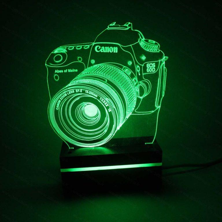 چراغ خواب طرح دوربین عکاسی