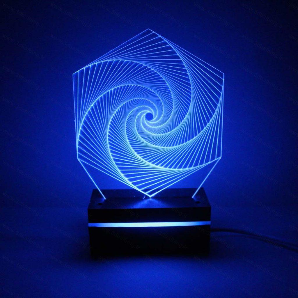 چراغ خواب شش ضلعی