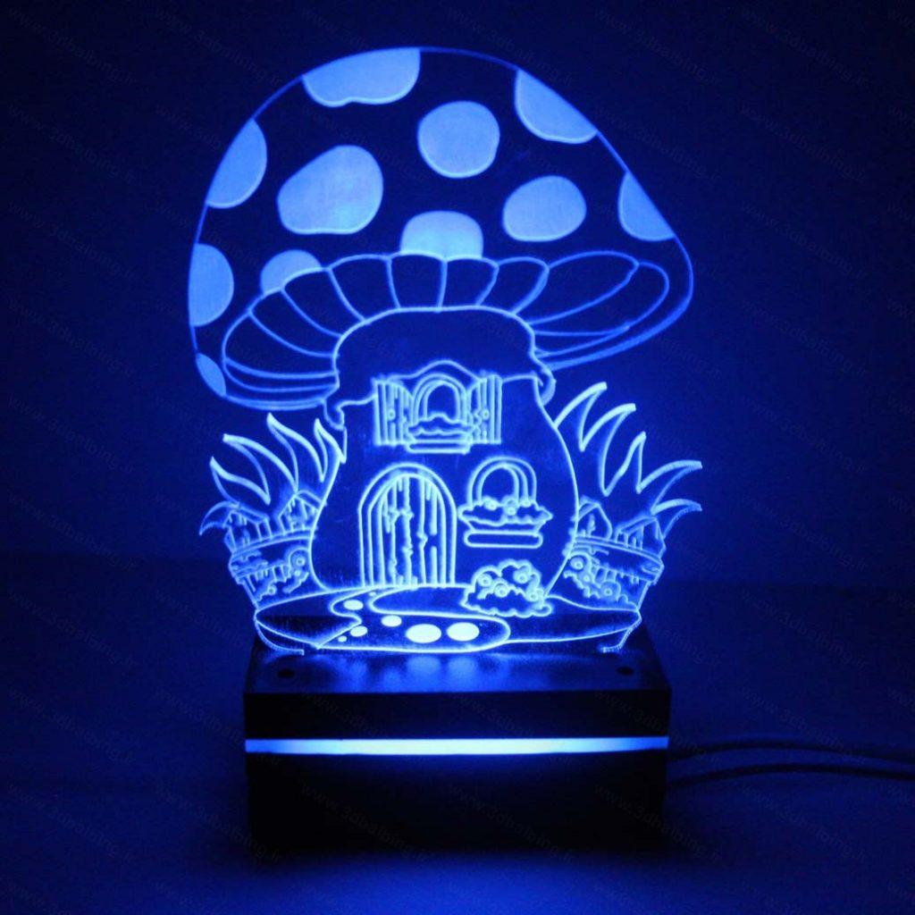 چراغ خواب طرح خونه قارچی