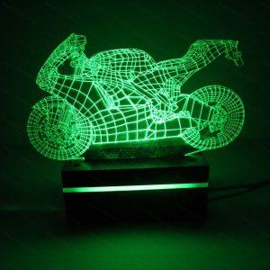 چراغ خواب طرح موتور سیکلت