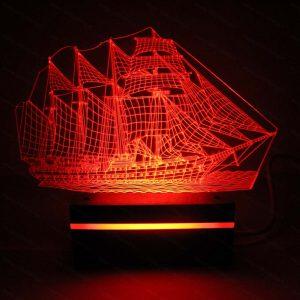 چراغ خواب طرح کشتی