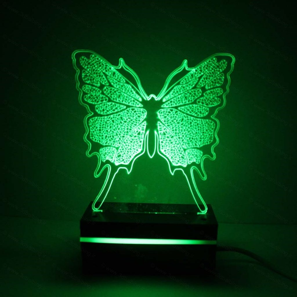 چراغ خواب طرح پروانه