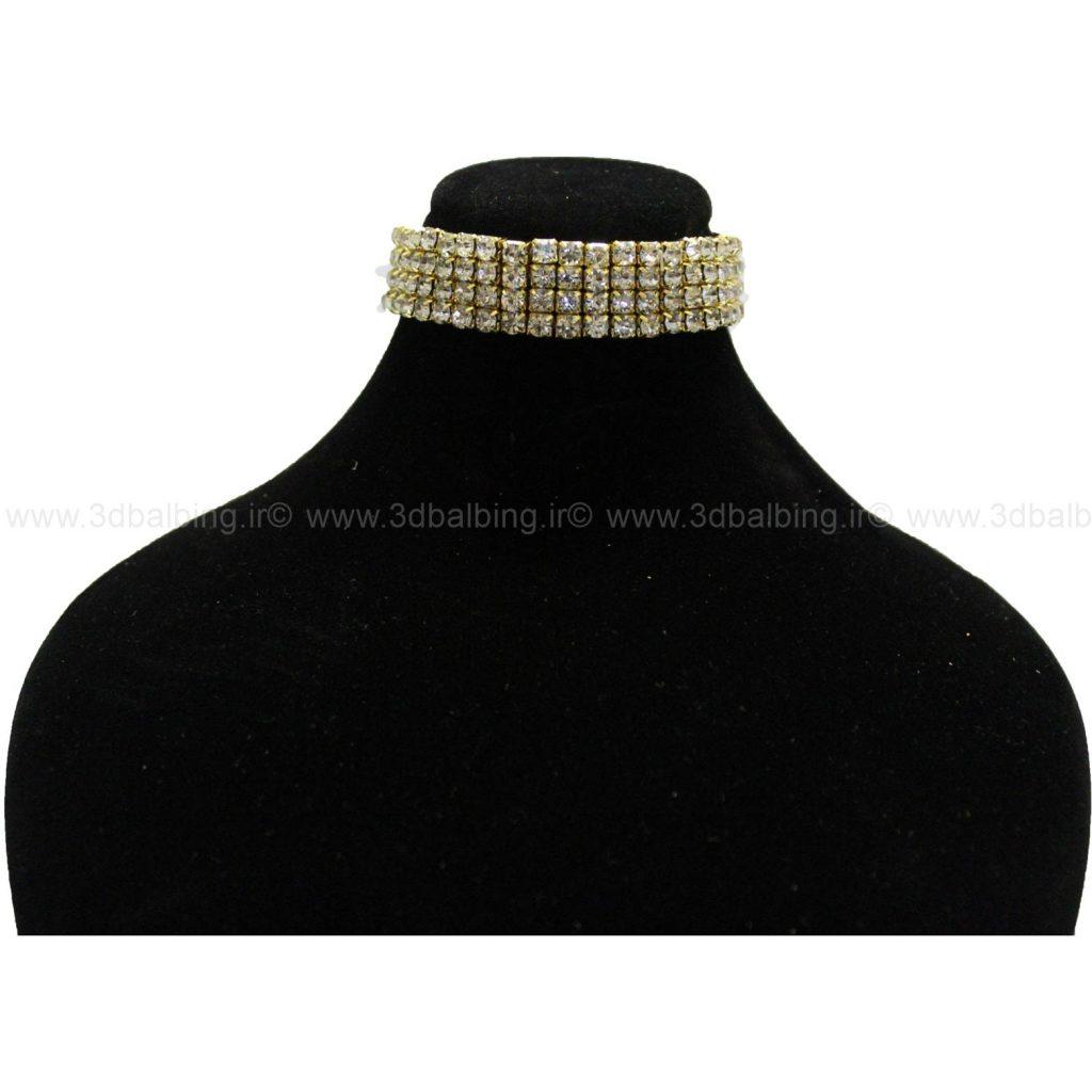 دستبند تیتایوم طلایی(کد129)
